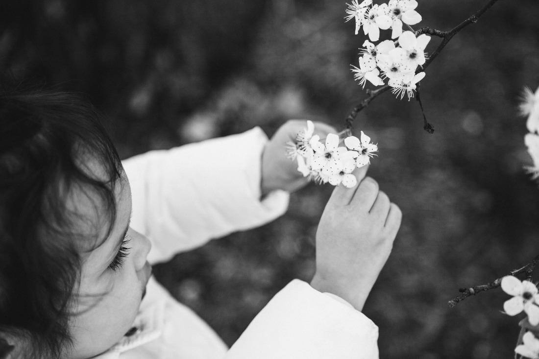 20 - Bimba con fiorellini - foto di Sarah Clark da Pixabay - little-girl-and-flower-2183164_1920