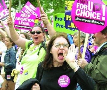 Donne per l'aborto