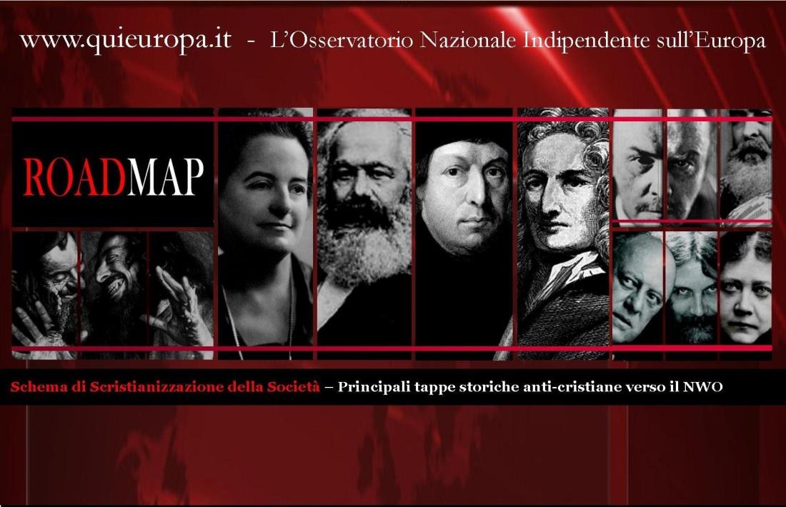 Qui Europa - tappe scristianizzazione società