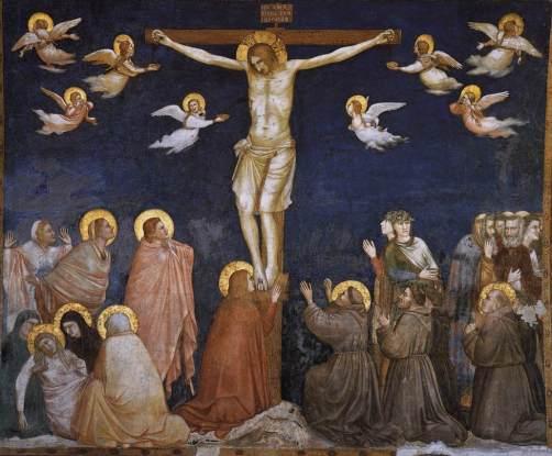 Crocifissione, Giotto, Basilica inferiore di Assisi