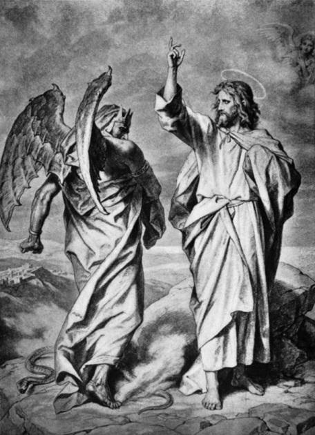 Gesù ammonisce il diavolo