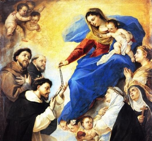 Madonna del Rosario e San Domenico
