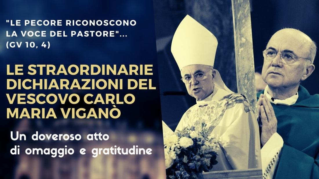 Mons. Viganò - dichiarazioni
