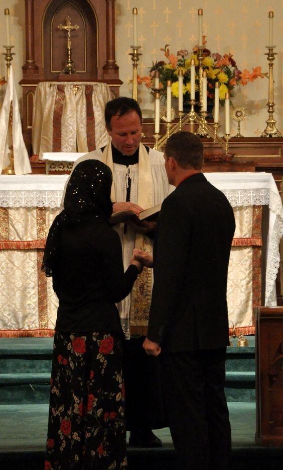 Fidanzati o sposi cattolici