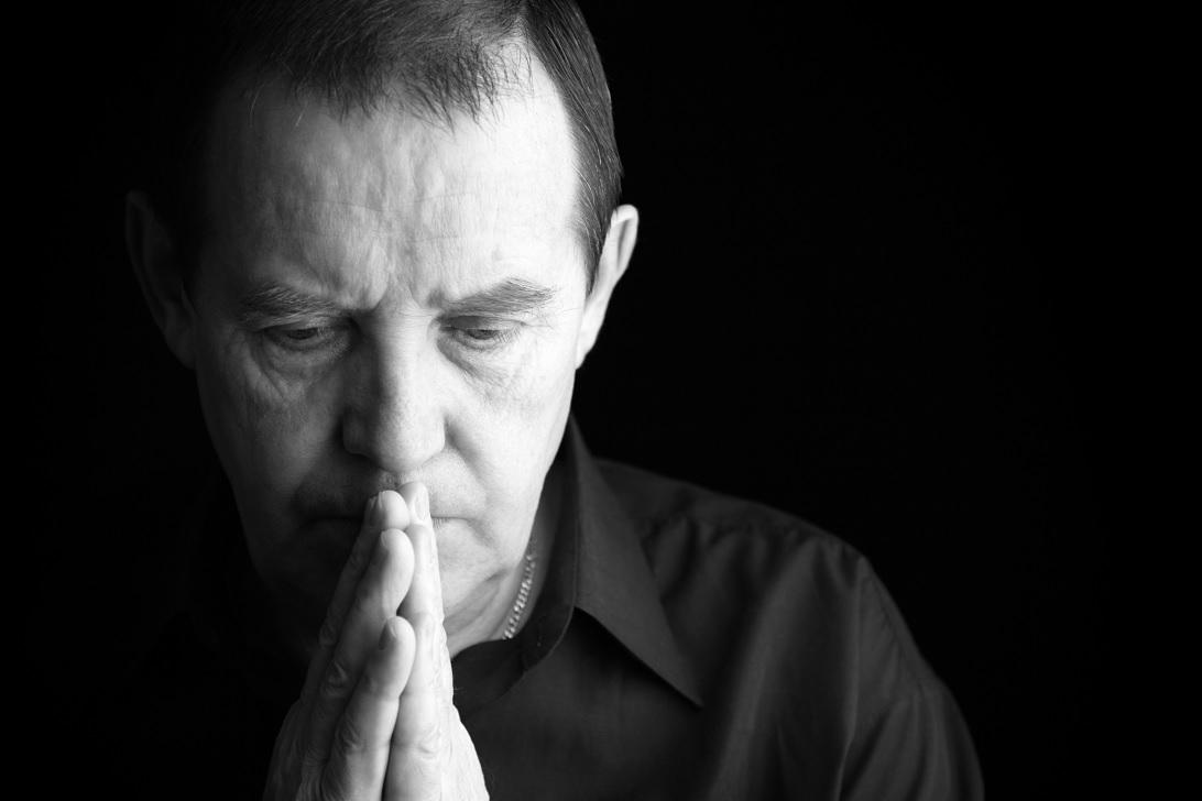 Preghiera di un uomo