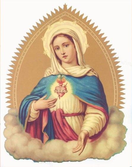 Cuore Immacolato di Maria (immagine del XIX secolo)